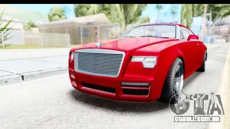 GTA 5 Enus Windsor Drop para GTA San Andreas vista direita