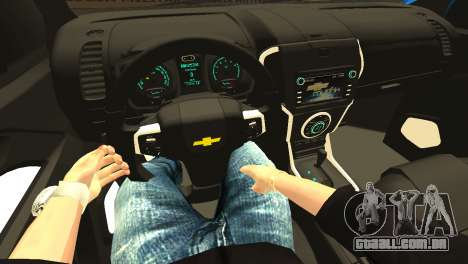 Chevrolet TrailBlazer 2015 LTZ para GTA San Andreas vista superior