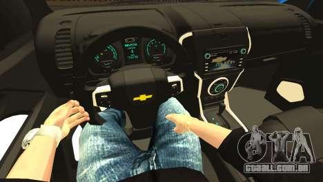 Chevrolet TrailBlazer 2015 LTZ para GTA San Andreas vista superior