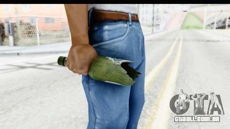 GTA 5 Broken Bottle para GTA San Andreas terceira tela