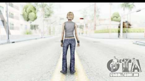 Silent Hill 3 - Heather Sporty Gray Pixel Droid para GTA San Andreas terceira tela