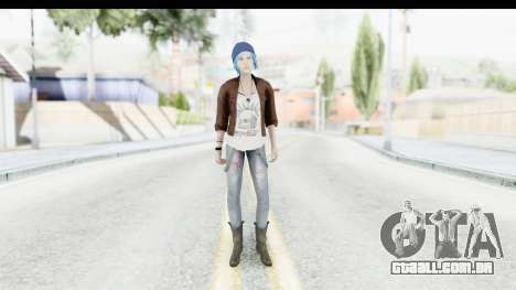 Life Is Stange Episode 3 - Chloe Jacket para GTA San Andreas segunda tela