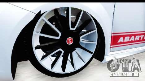 Fiat Punto Abarth para GTA San Andreas vista traseira