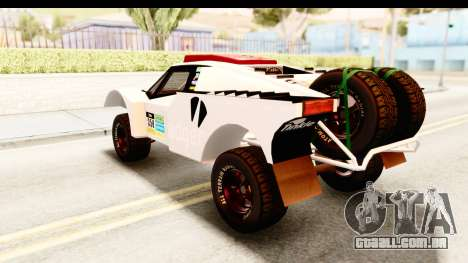 GTA 5 Desert Raid SA Lights PJ para GTA San Andreas interior