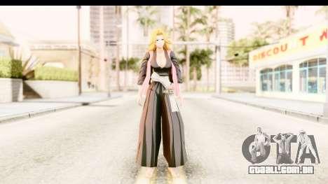 Bleach - Rangiku para GTA San Andreas segunda tela