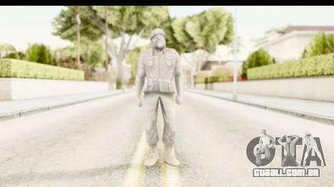 ArmyMen: Serge Heroes 2 - Man v1 para GTA San Andreas segunda tela