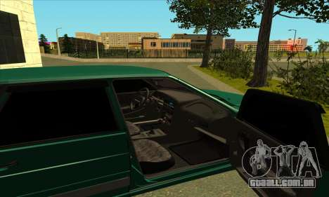 2115 para GTA San Andreas vista interior