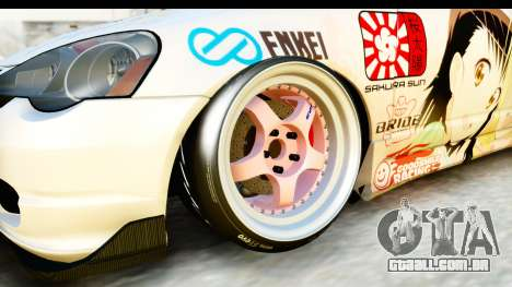 Acura RSX Type S 2002 Nisekoi Itasha para GTA San Andreas vista traseira