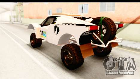 GTA 5 Desert Raid IVF PJ para GTA San Andreas interior