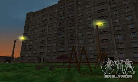 O novo bairro, perto de Arzamas para GTA San Andreas sexta tela