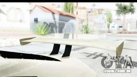 GTA 5 Emperor ETR1 IVF para GTA San Andreas vista interior