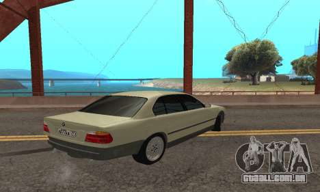 BMW 730 para GTA San Andreas vista direita
