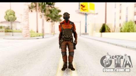 Homefront The Revolution - KPA v1 Red para GTA San Andreas segunda tela