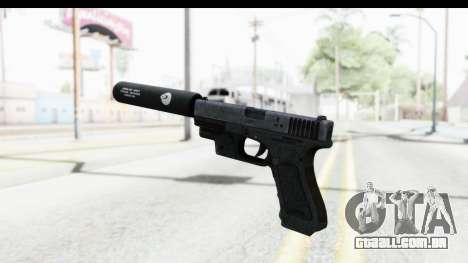 Glock P80 Silenced para GTA San Andreas terceira tela