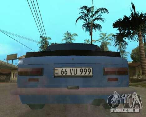 VAZ 2101 Arménia para GTA San Andreas esquerda vista