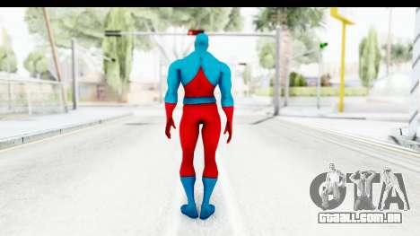 Injustice God Among Us - Atom para GTA San Andreas terceira tela