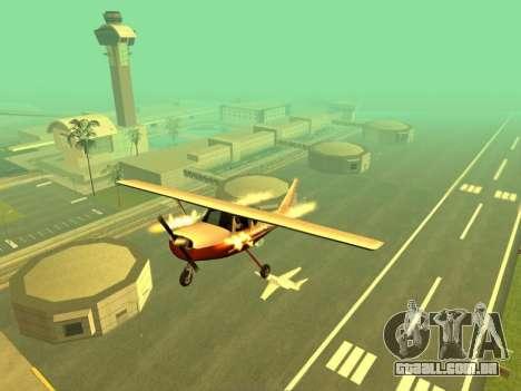 A adição de armas para o ar técnica para GTA San Andreas terceira tela