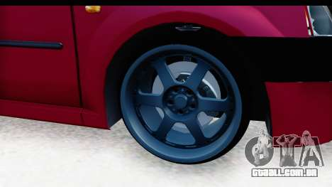 Dacia Logan Editie para GTA San Andreas vista traseira