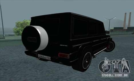 Mercedes-Benz G55 para GTA San Andreas vista direita