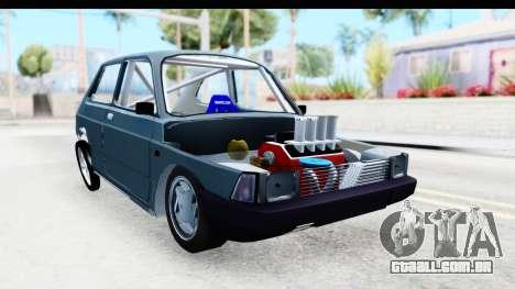 Fiat 147 para GTA San Andreas vista direita
