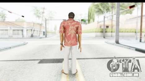 Yakuza 5 Kazuma Kiryu Okinawa para GTA San Andreas terceira tela