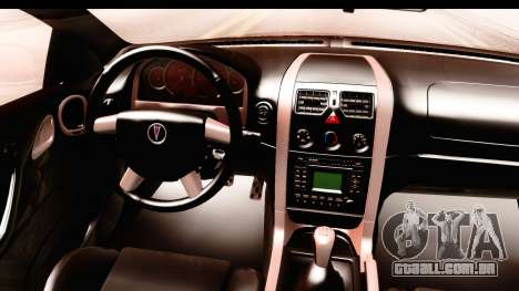 Pontiac GTO 2006 para GTA San Andreas vista interior