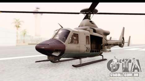 GTA 5 Buckingham Valkyrie para GTA San Andreas vista direita