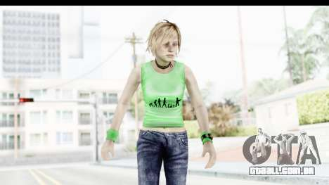 Silent Hill 3 - Heather Sporty Green Evolution para GTA San Andreas