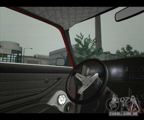 Lada 2107 Jiguar para GTA San Andreas traseira esquerda vista
