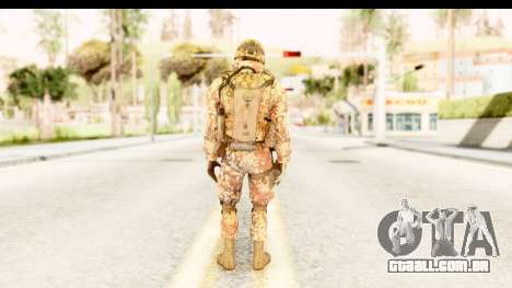 Danish Soldier para GTA San Andreas terceira tela