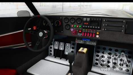 GTA 5 Lampadati Tropos IVF para GTA San Andreas vista interior