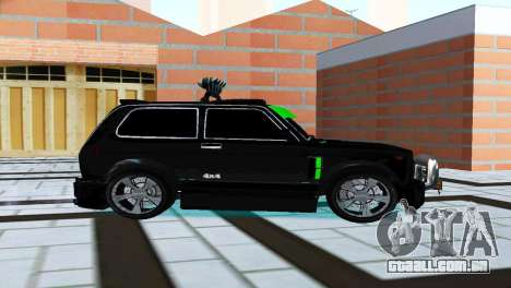 VAZ 21213 Niva 4x4 Tuning para GTA San Andreas traseira esquerda vista