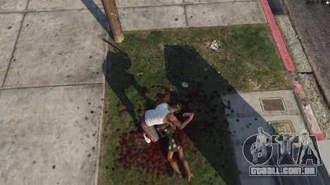 GTA 5 Extreme Blood 0.1 oitmo screenshot