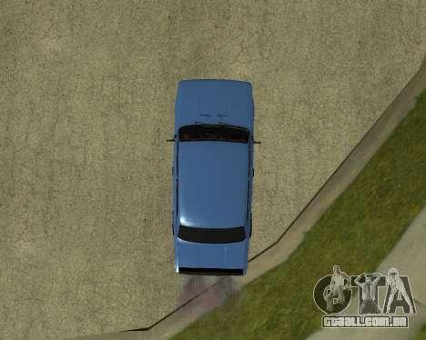 VAZ 2101 Arménia para GTA San Andreas vista traseira