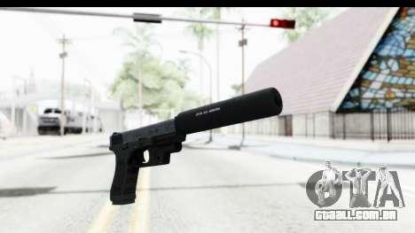 Glock P80 Silenced para GTA San Andreas segunda tela