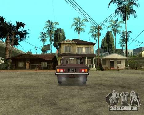 ZAZ 968M Arménia para GTA San Andreas esquerda vista