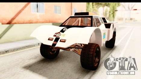 GTA 5 Desert Raid IVF PJ para GTA San Andreas vista inferior