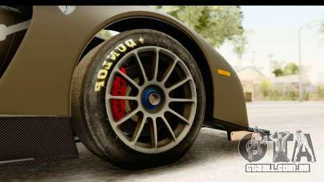 Scuderia Glickenhaus SCG 003C para GTA San Andreas vista traseira