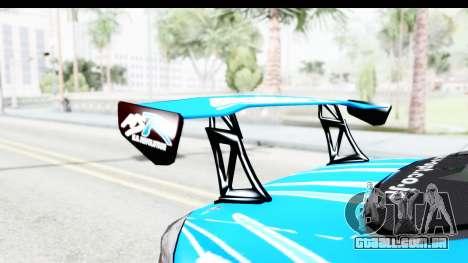 Nissan Silvia S15 D1GP Blue Toyo Tires para GTA San Andreas vista interior