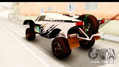 GTA 5 Desert Raid IVF PJ para GTA San Andreas vista superior