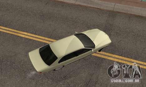 BMW 730 para GTA San Andreas vista interior
