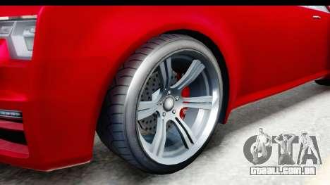 GTA 5 Enus Windsor Drop para GTA San Andreas vista traseira