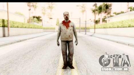 Left 4 Dead 2 - Zombie T-Shirt para GTA San Andreas segunda tela