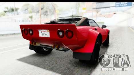 GTA 5 Lampadati Tropos IVF para GTA San Andreas vista direita
