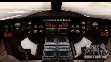 GTA 5 Buckingham Valkyrie para GTA San Andreas vista traseira