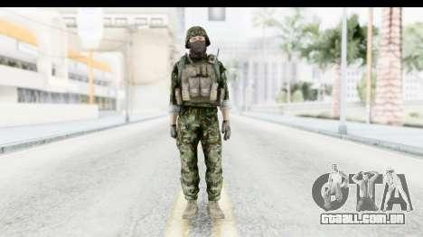 Global Warfare Balkan para GTA San Andreas segunda tela