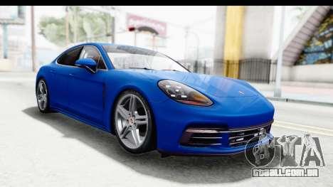 Porsche Panamera 4S 2017 v1 para GTA San Andreas