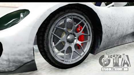GTA 5 Pfister 811 SA Lights para GTA San Andreas vista traseira