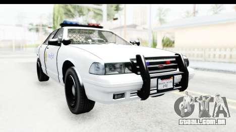 Sri Lanka Police Car v3 para GTA San Andreas