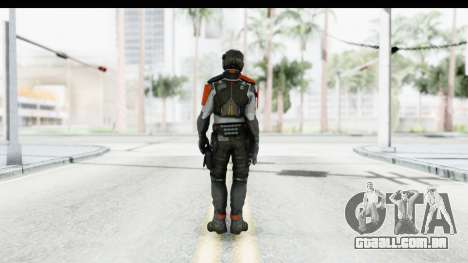 Homefront The Revolution - KPA v4 Captain para GTA San Andreas terceira tela
